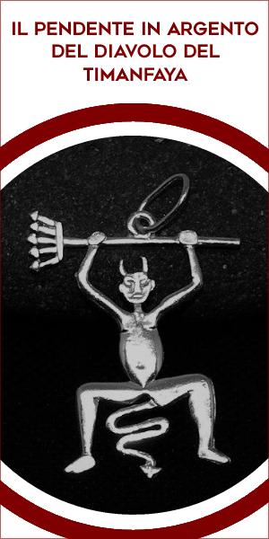 Il pendente in Argento del Diavolo del Timanfaya