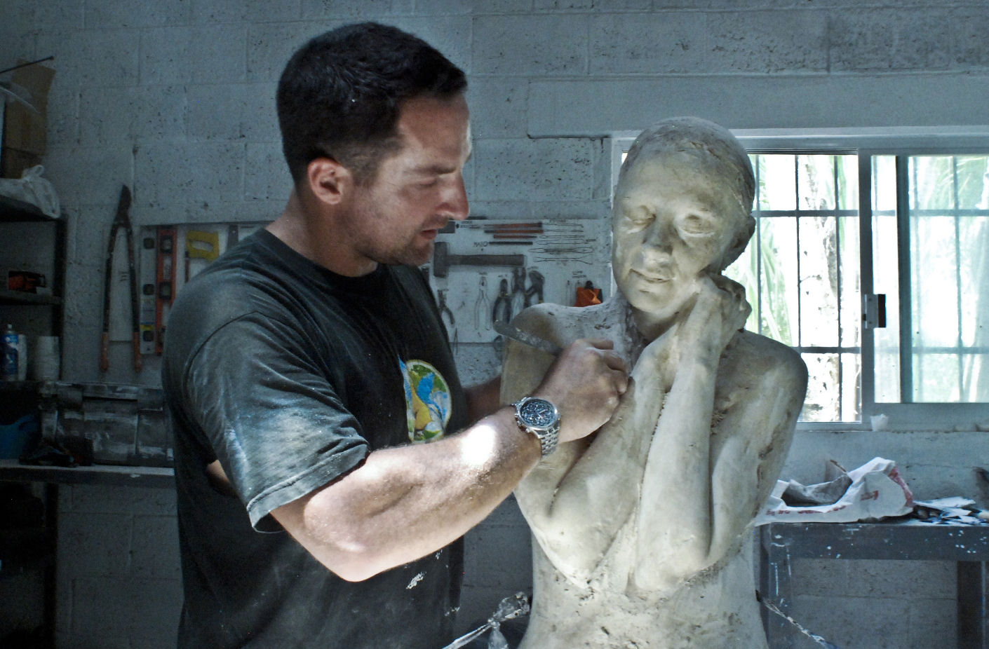 Jason DeCaires Taylor - scultore del museo subacqueo di Lanzarote