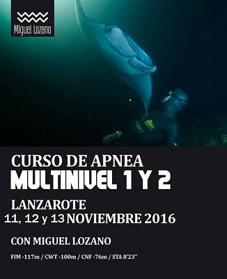 Lanzarote scola sub