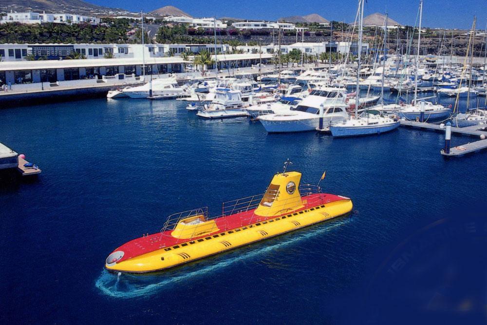 Escursione in sottomarino a Lanzarote