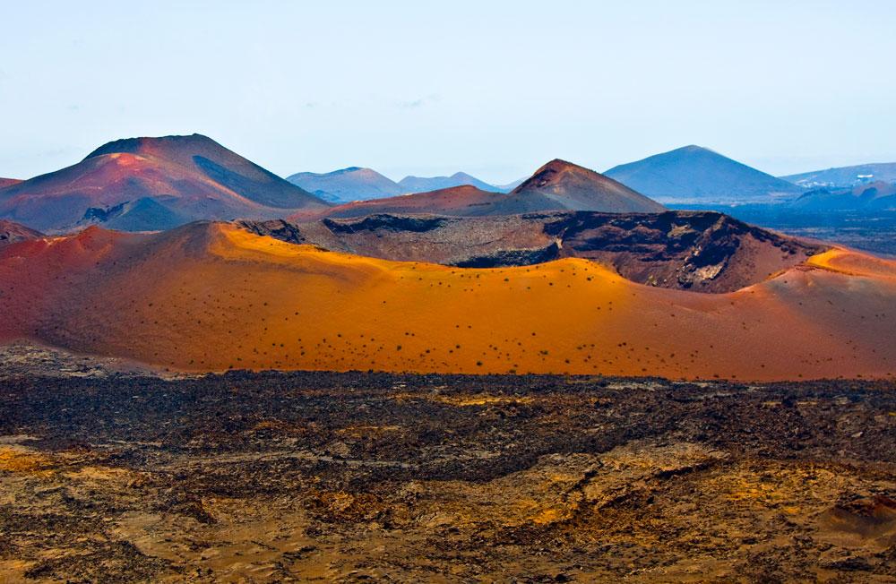 La Montagna del Fuoco a Timanfaya