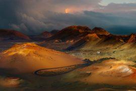 Trekking a Lanzarote: l'escursione sul vulcano